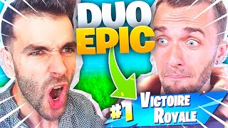Ce Top 1 EPIQUE AVEC SQUEEZIE EN DUO ! ► Fortnite Battle Royale
