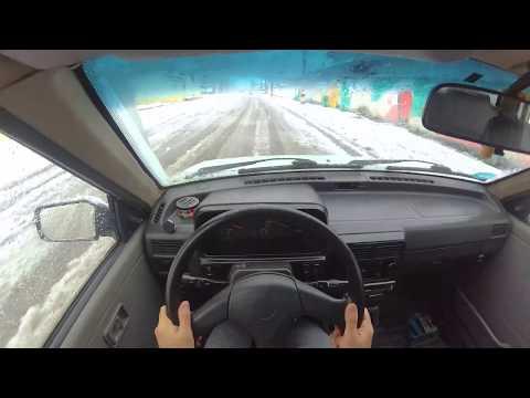Driving In Iran/ Ford Festiva Kia Pride