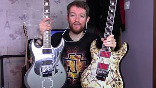 Esp E-II Richard Z RZK-1signature guitar review