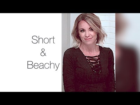 TYME Iron: Create this Short and Beachy hairstyle easily with the TYME Iron