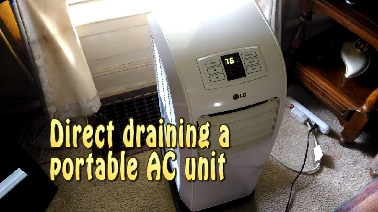 Direct draining a portable ac unithellz yeah youtube direct draining a portable ac unithellz yeah fandeluxe Choice Image