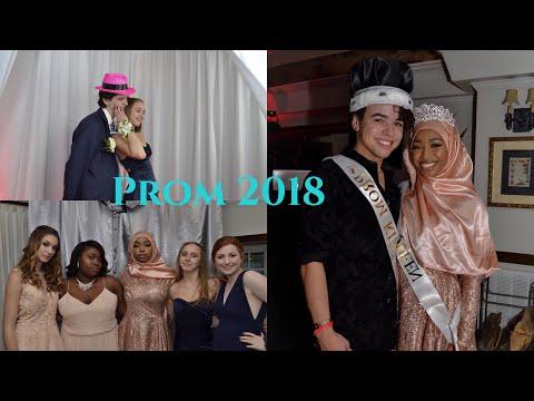Senior Prom  GRWM & Vlog 2018/ I WON PROM QUEEN AS A HIJABI??!
