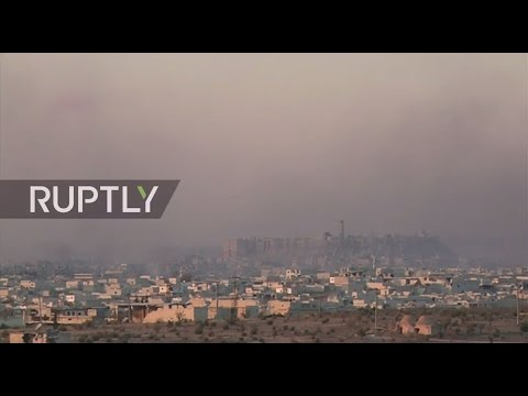 LIVE from Aleppo as heavy clashes between Syrian Army and militants continue