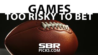 Week 2 NFL Picks: Games That Are Too Risky To Bet