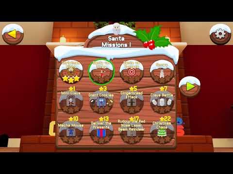Cookies vs Claus Gameplay (PC game) - 동영상