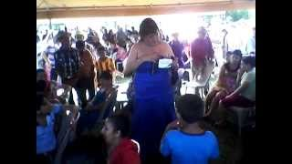 Déborah Penélope / Caravanas Artísticas / Cantón Guachiplín / San Ildefonso 2014 / El Salvador