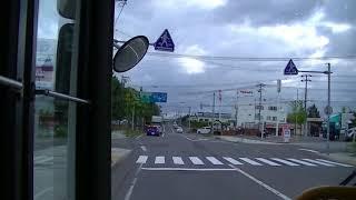 (前面展望) 岩見沢ターミナル→栄町→岩見沢ターミナル 北海道中央バス(旧)栄町線 17/9/23