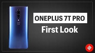OnePlus 7T Pro First Look: AMOLED display & pop-up selfie camera