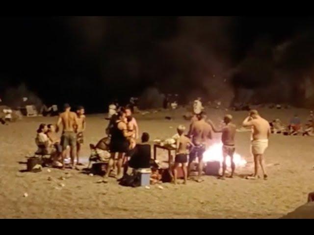 Scalea, Ferragosto 2021: lotta ai falò in spiaggia