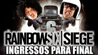 Rainbow Six Siege PS4 Ingressos para a final do mundial