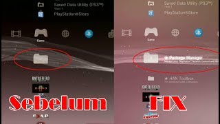 Han Installer FIX Package Manager  PS3 HFW 4 .84.2