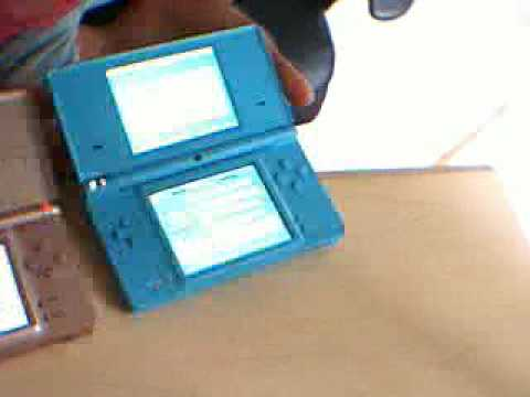Nintendo Ds Lite -- Download Play - YouTube