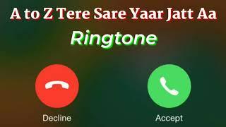 8 Parche Song Ringtone // A to Z Tere Sare Yaar Jatt Aa Song Ringtone // New Punjabi Song Ringtone