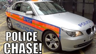 CRAZY POLICE CAR CHASE!!