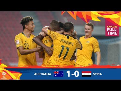 #AFCU23 M25 - AUSTRALIA 1 - 0 SYRIA  : HIGHLIGHTS