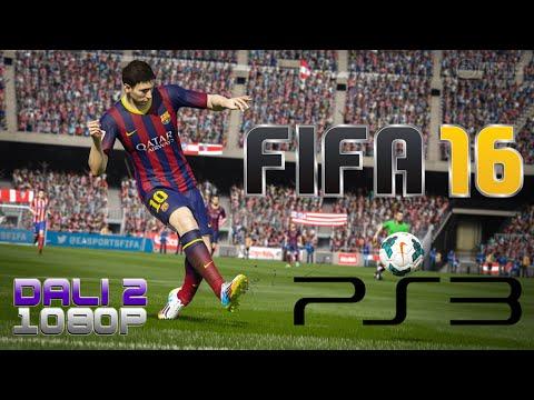 FIFA 16 PS3 Gameplay 1080p