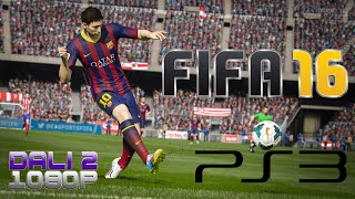 FIFA 16 PS3 Gameplay 1080p