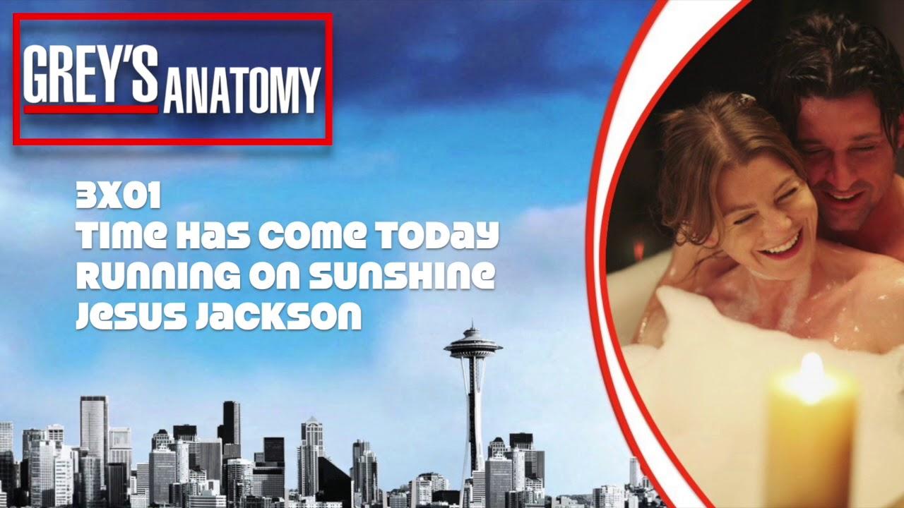 Greys Anatomy Soundtrack Running On Sunshine By Jesus Jackson