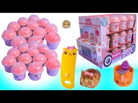 Scented Lip Gloss + Nail Polish Series 5 Surprise Num Noms Blind Bags