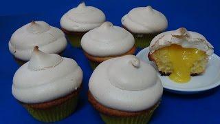 How To Make Lemon Meringue Cupcake Step-by-step