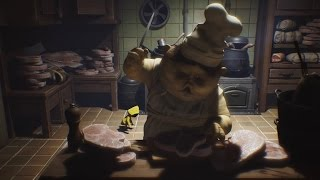 10 Cute & Creepy Minutes of Little Nightmares Gameplay - Gamescom 2016