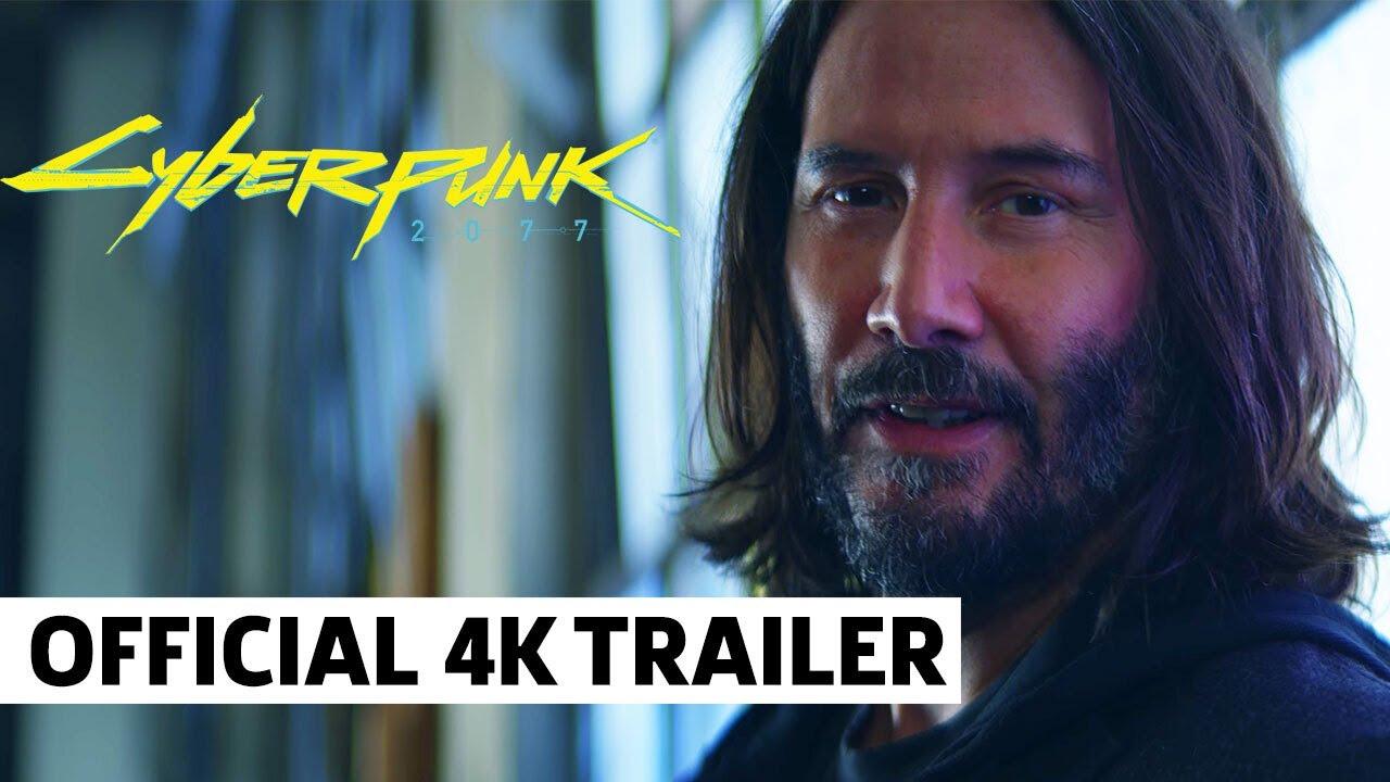 Cyberpunk 2077 — No Limits Trailer Ft. Keanu Reeves (4K)