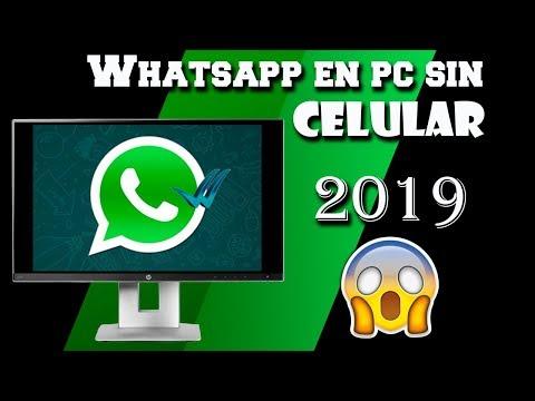 COMO TENER WHATSAPP EN PC SIN CELULAR | 2019 |