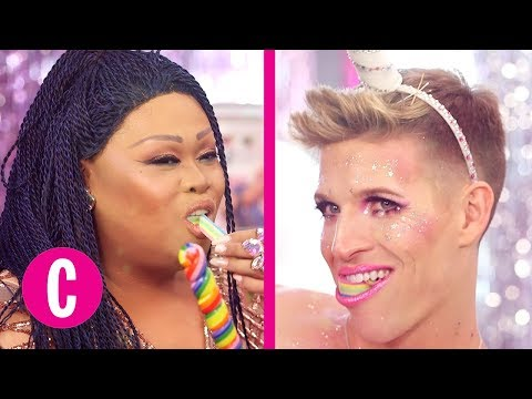 Download Youtube: Glitter Fantasy Plays Sexy Unicorn (ft. Jiggly Caliente) | Episode 14 | Cosmopolitan