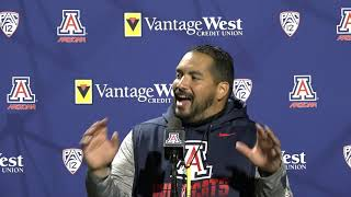 Jordan Paopao Spring Practice Press Conference Day 8
