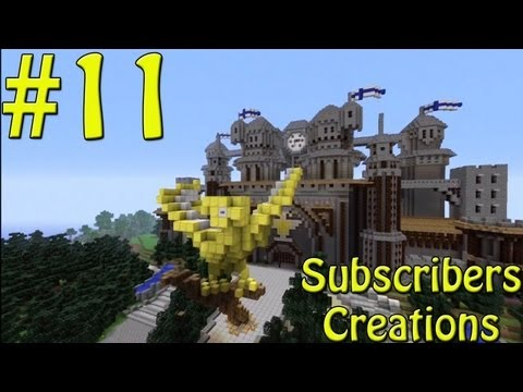 Minecraft Xbox - Subscribers Creations 11 - Phoenix Castle/Cathedral