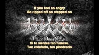 Three Days Grace - Riot W/ Lyrics Traducidas (Español-Inglés) HD
