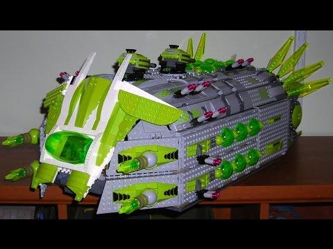 Lego Galaxy Squad MOC: Zemdari Command Bug Ep 1: Exterior