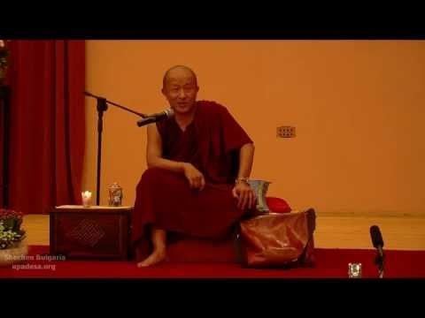 Dzongsar Khyentse Rinpoche in Bulgaria