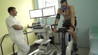 Fyzické zátěžové testy v pardubické nemocnici