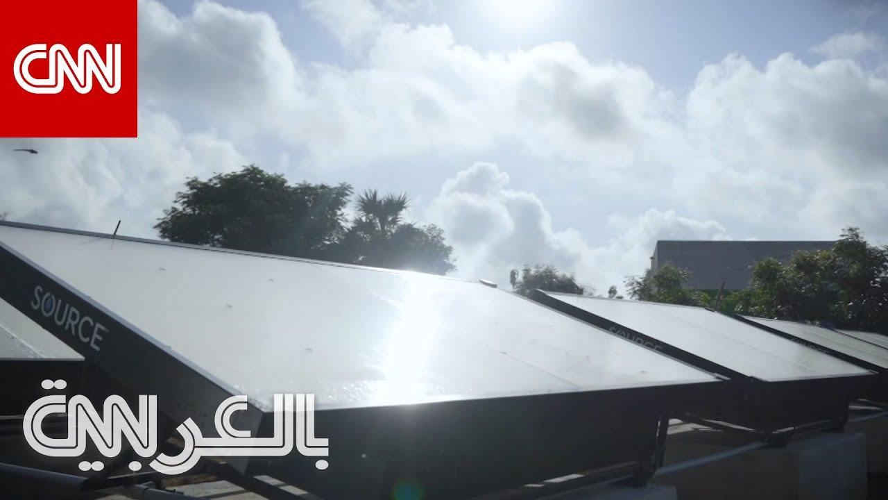 تحويل الهواء الى ماء شرب في دبي