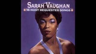 may 5 1949 tonight i shall sleep sarah vaughan