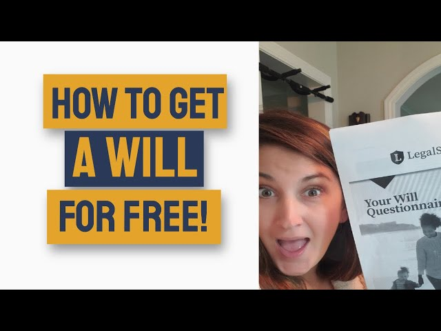 Legalshield Review 2020 - How to Make a Will for Free