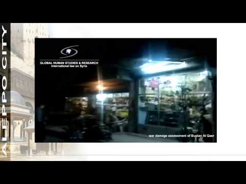 War Damages Assessment   Aleppo City   Bustan Al Qasr