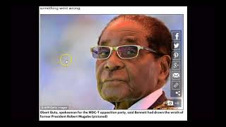 MUGABE'S  '''SHARPEST THORN''' DIED IN A HELICOPTER CRASH