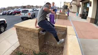 MOST INCREDIBLE PARKOUR AND FREERUNNING - 2018