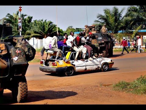 Bangui is the capital and largest city of the Central African Republic, Ubangi River, trade ,