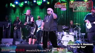 "CeeLo Green Ft. V. Bozeman ""Fool For You"" LIVE @Congaroom"