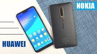 Huawei P20 Lite vs Nokia 6 2018 Speed Test Comparison