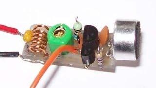 Spy Bug FM Transmitter(Long Range Spybug)984.2 Feet