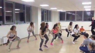 Открытый урок по  Джаз-Фанку в студии танца FOX