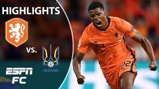 Netherlands vs. Ukraine full highlights: Frank de Boer's side almost BLOWS it!   Euro 2020   ESPN FC