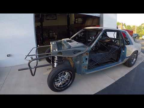 RSM Foxbody Tube Front Kit installed - YouTube