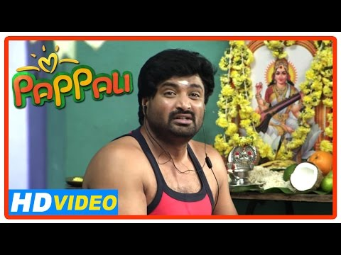 Pappali Tamil Movie | Scenes | Aadukalam Naren And Saranya Encourage Senthil | Ishara