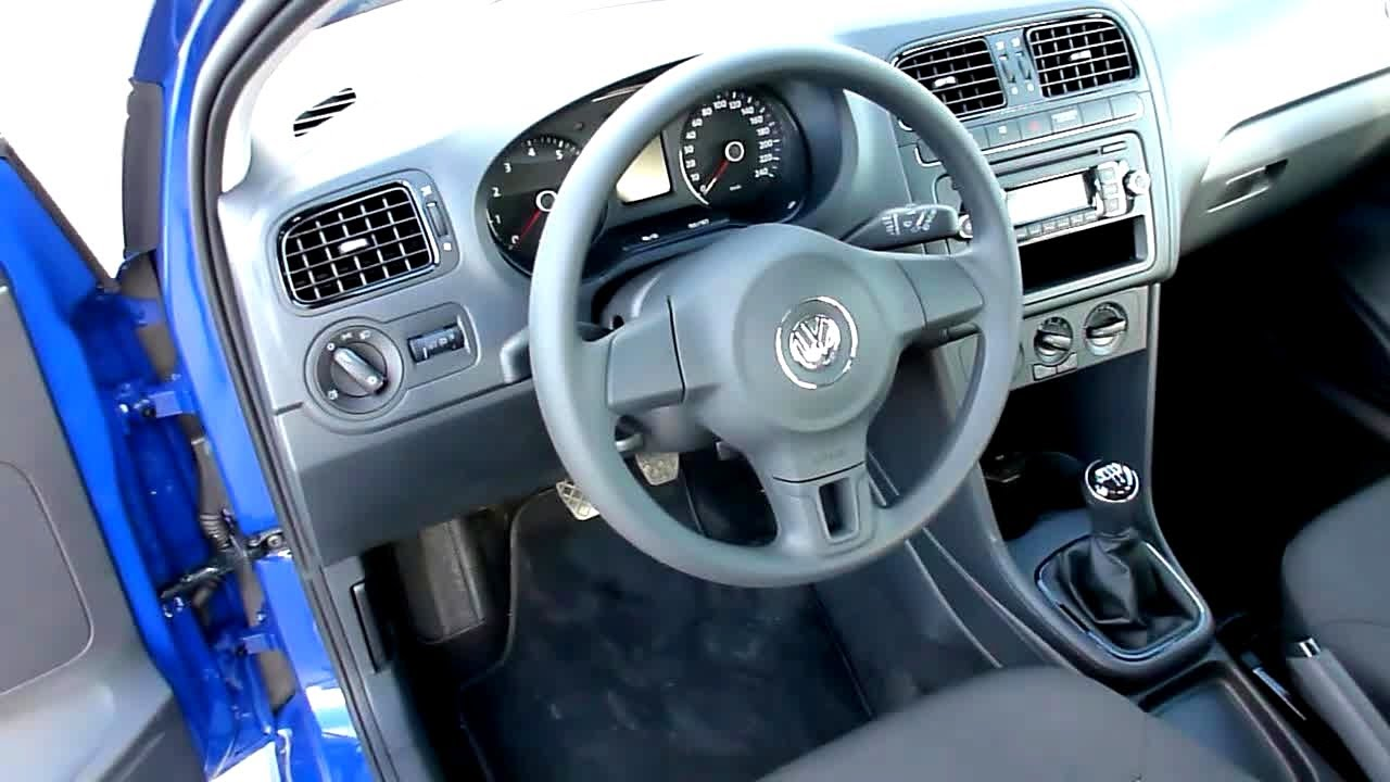 2011 vw polo 1 2 trendline interieur in detail youtube
