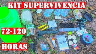 Kit de Supervivencia Casero de 72 a 120 Horas - Evasión / Bug out